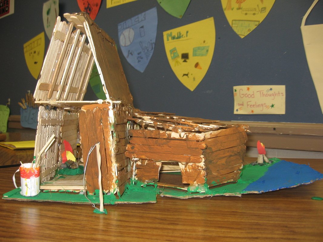 how to make a wigwam for a school project